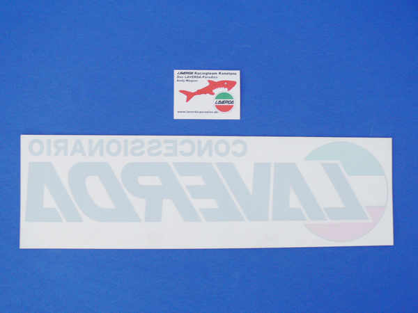 Sticker 45 x 13 cm 3-colours (LAVERDA Consessionari)