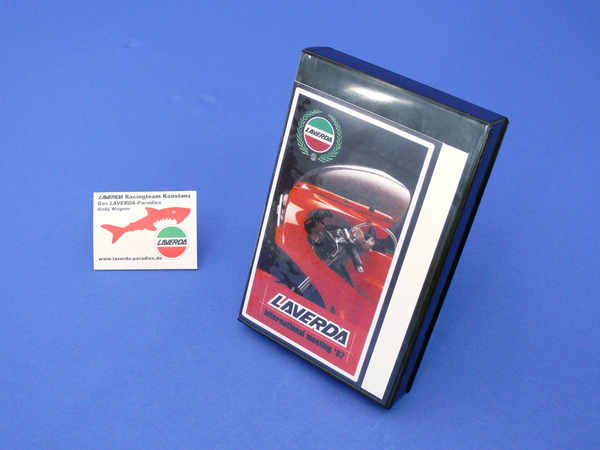 Original video from the LAVERDA-company (VHS)