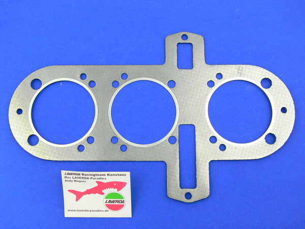 Gasket 1000/1200 cylinder head special Ø 80mm original size<br> Please note! If you don´t have part No. 41-19 at home, you need to order 4 pieces!
