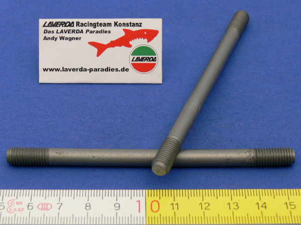 Stud M7 x 105 mm cylinder 1000 outer (made from robust threaded rod)