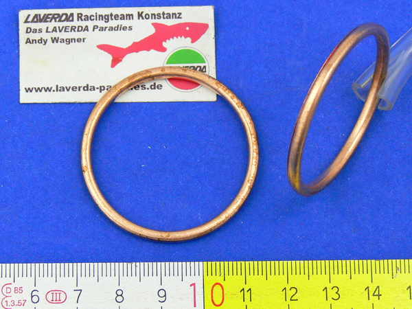 Gasket exhaust (copper, asbestos can only be used once)