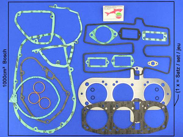Gasket kit engine 1000 Bosch-generator special (20 pieces)
