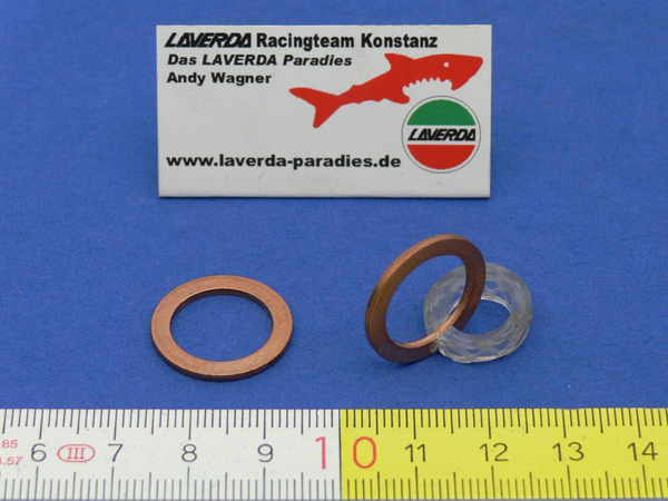 Washer copper Ø 14mm