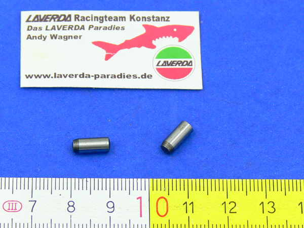 Locating pin, middle camshaft support Ø4x10mm