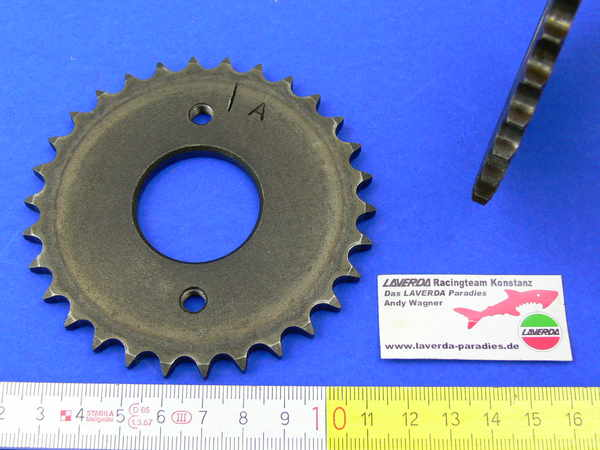 Timing chain gear A-11 / A-12 inlet