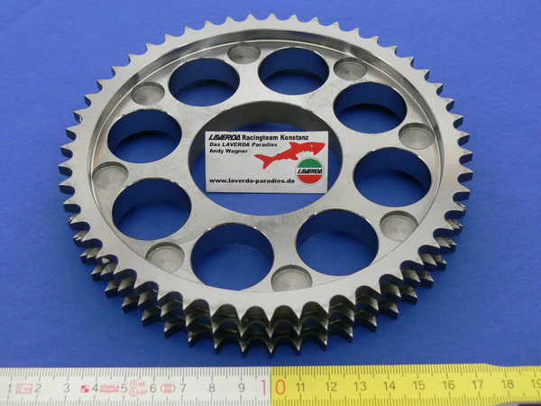 Chain sprocket on clutch housing 3-row (three cylinder)