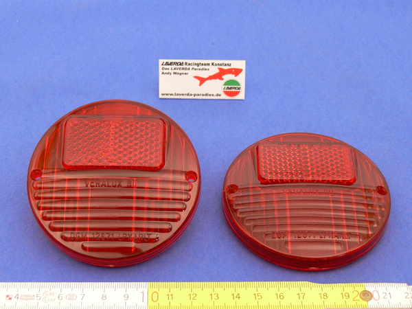 Taillight lens round copy