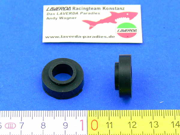 Rubber special washer for number plate holder